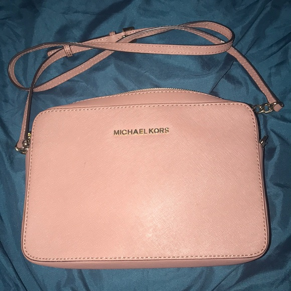 1835ed689 Jet Set East West Crossgrain Leather Crossbody. M_5c846b21bb7615c1635a53c0.  Other Bags you may like. Michael Kors ...